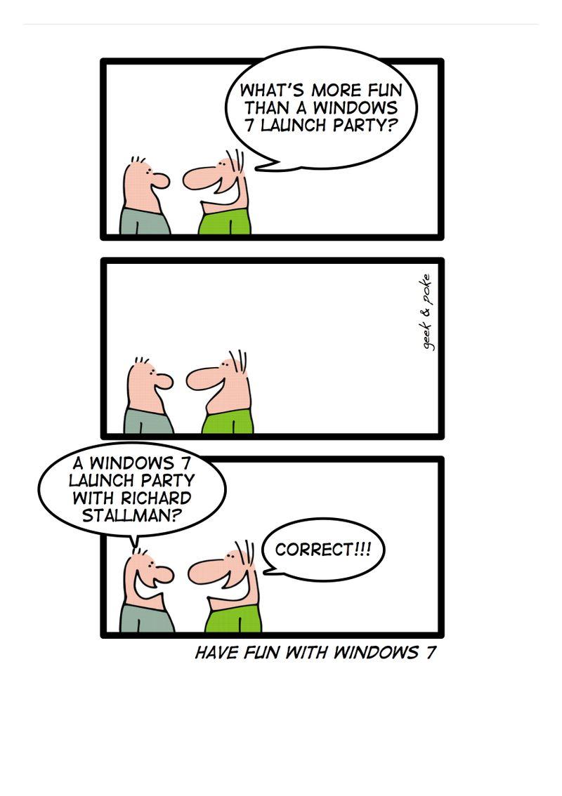 Windows7party