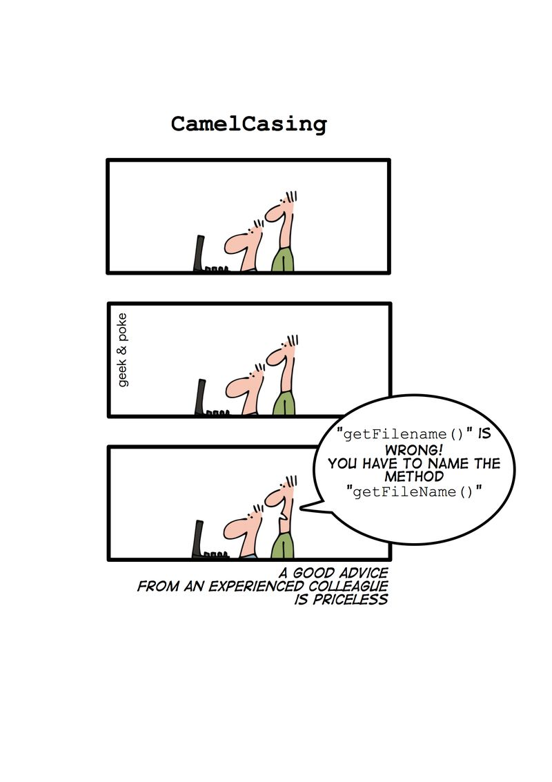 Camelcasing
