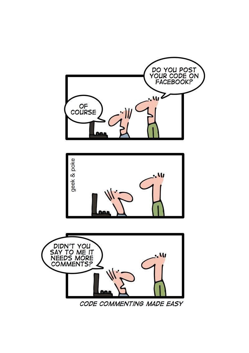 Comentarios en el código