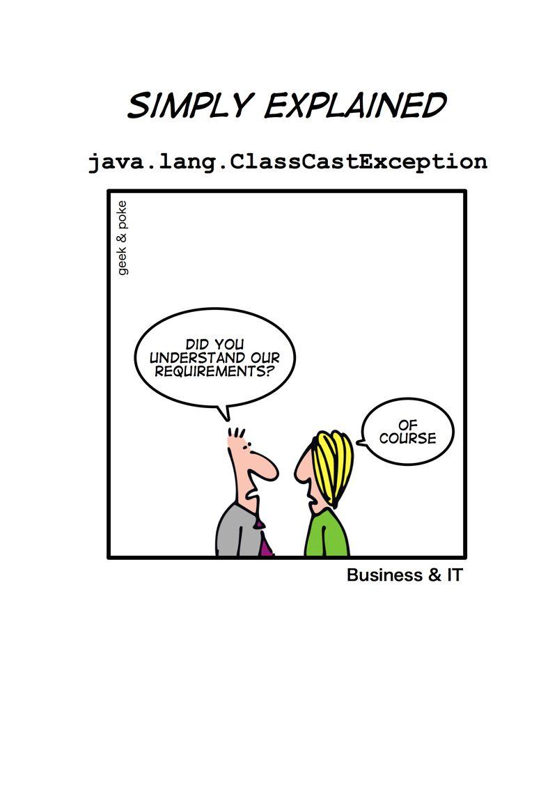 Classcastexception