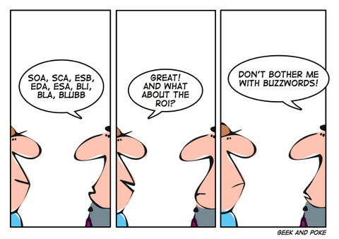Geek and Poke - a great IT-oriented web toon